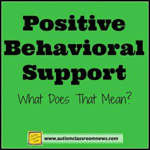 A dissertation positive behavior support