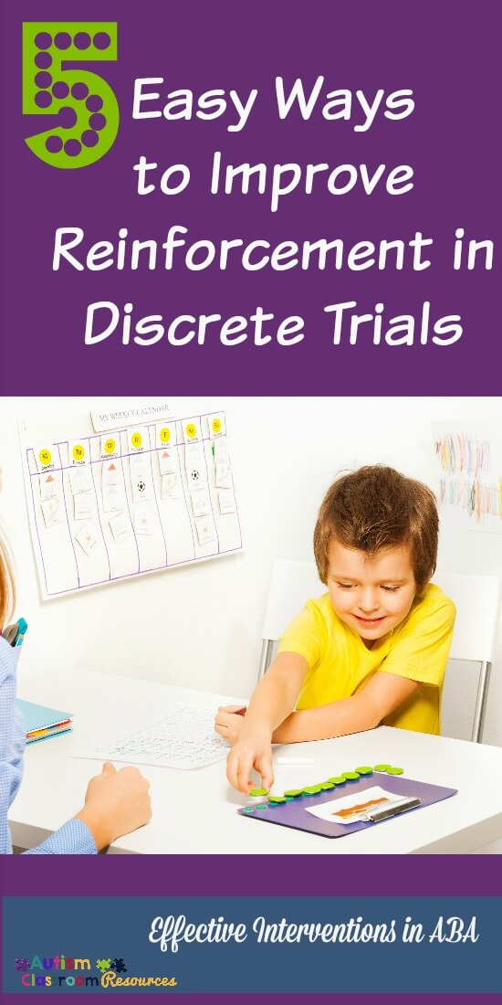 5 Easy Ways to Improve Learning in Discrete Trials