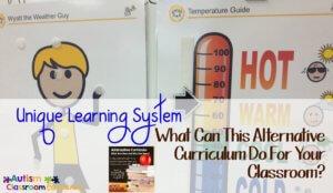 Unique Learning System alternative curriculum