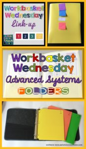 Workbasket Wednesday Advanced Structured Work SystemsOctober 2015 from Autism Classroom Resources