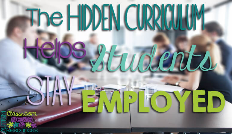 The Hidden Curriculum Helps Students Be Employed