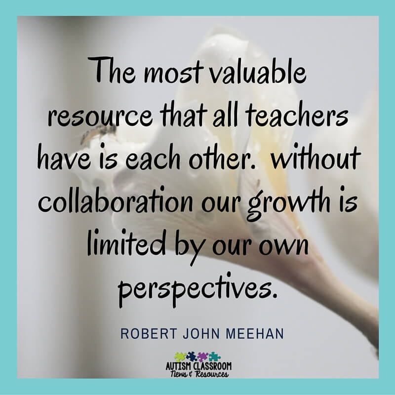 Collaborative Teaching Quotes ~ Observing others classrooms what to look for from