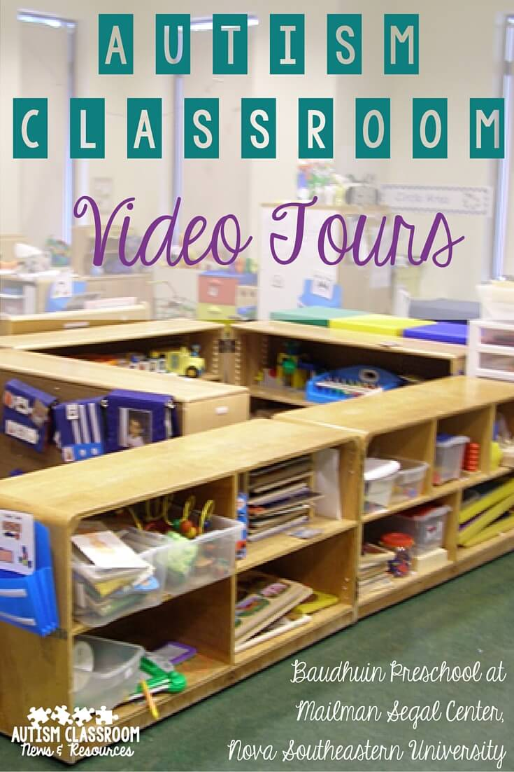 Classroom Organization Ideas For Special Education : Autism classroom tours guided video