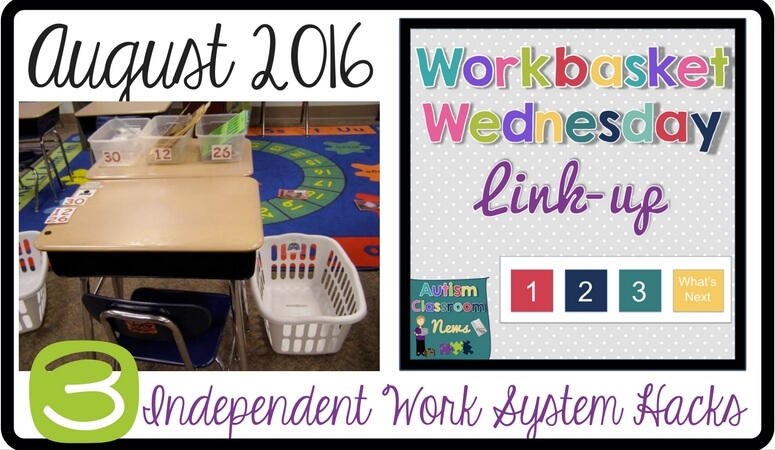 These 3 independent work system hacks can solve some common problems in setting up the classroom.