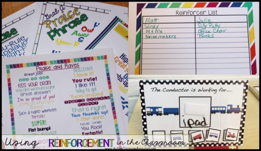 We Can Do Lots More For Students With >> Reinforcement In The Classroom Autism Classroom Resources
