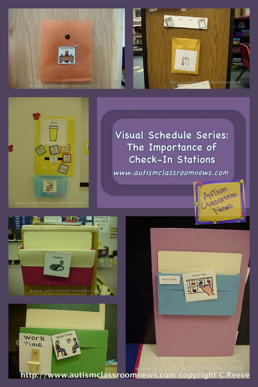Full-day visual schedules for autism come in many different forms. See examples of different types used in classes of all ages.
