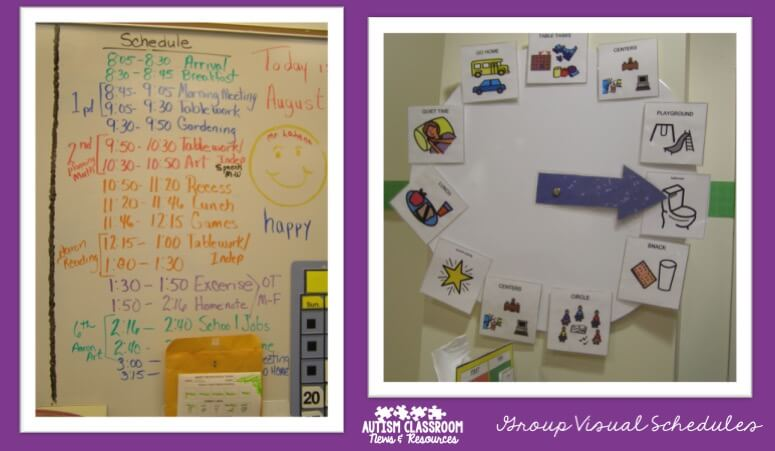 photograph about Free Printable Visual Schedule for Classroom named Visible Routine Collection: 5 Explanations in direction of Hire Local community Schedules