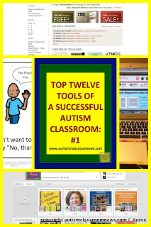 Top Twelve Tools of a Successful Autism Classroom #1