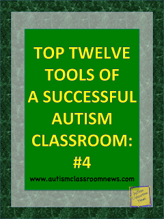 Top Twelve Tools of a Successful Autism Classroom: #4 {Freebie}