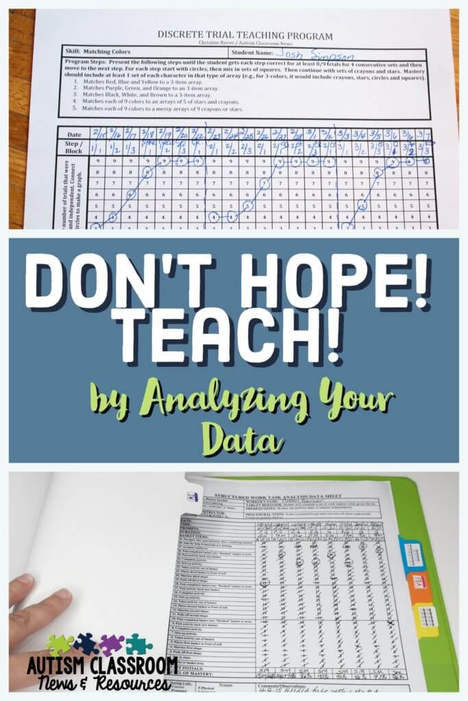 Ever wondered how to use all that data you take in your special education classroom? So many times we take it, but are we using it to its fullest usefulness? Check out these ideas for graphing and making that data functional.