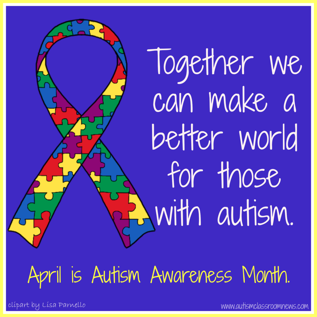 Gearing up for national autism awareness month freebies autism lets create a better world for autism biocorpaavc Gallery
