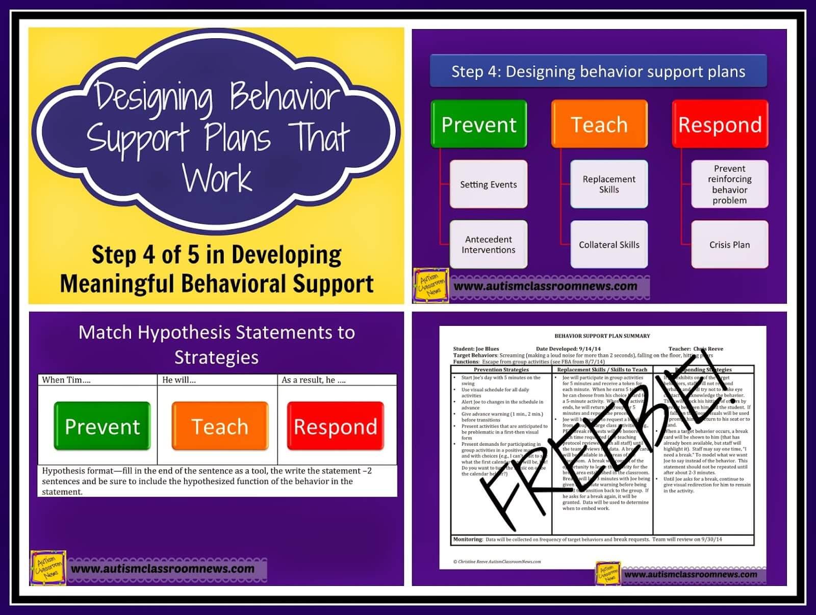 designing behavior support plans that work step 4 of 5 in developing meaningful behavioral. Black Bedroom Furniture Sets. Home Design Ideas