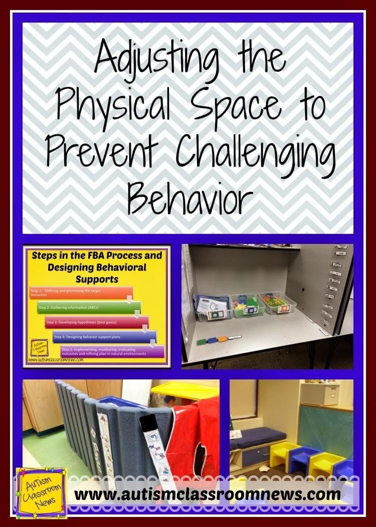 3 Ways To Adjust The Physical Space To Prevent Challenging