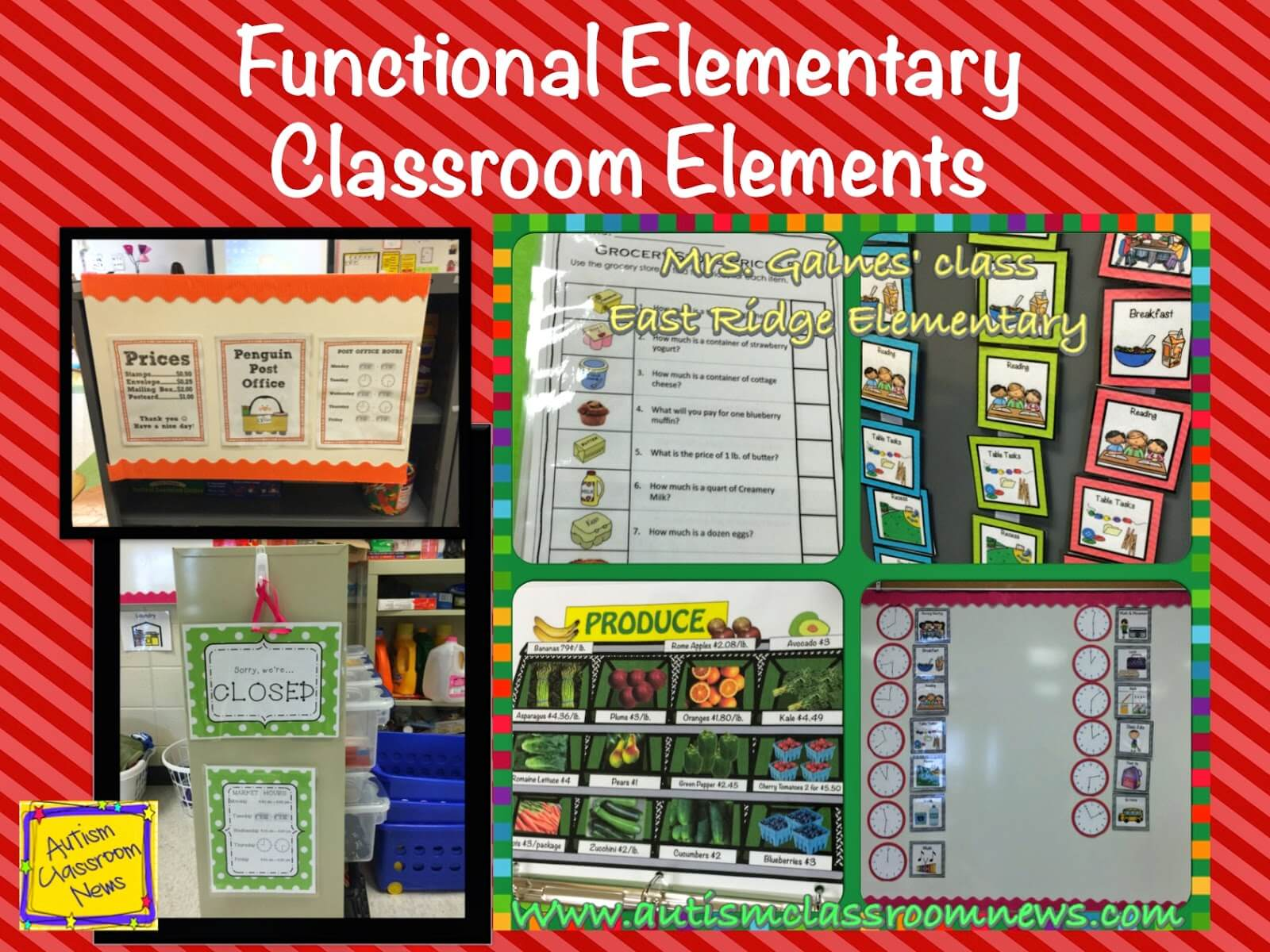 Elementary Classroom Setup Ideas ~ Functional elementary classroom elements autism