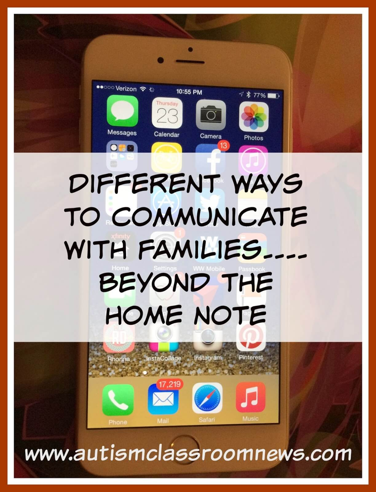 Home communications communications communication by telephone - 8 Ways To Communicate With Families Beyond The Home Note Autism Classroom Resources