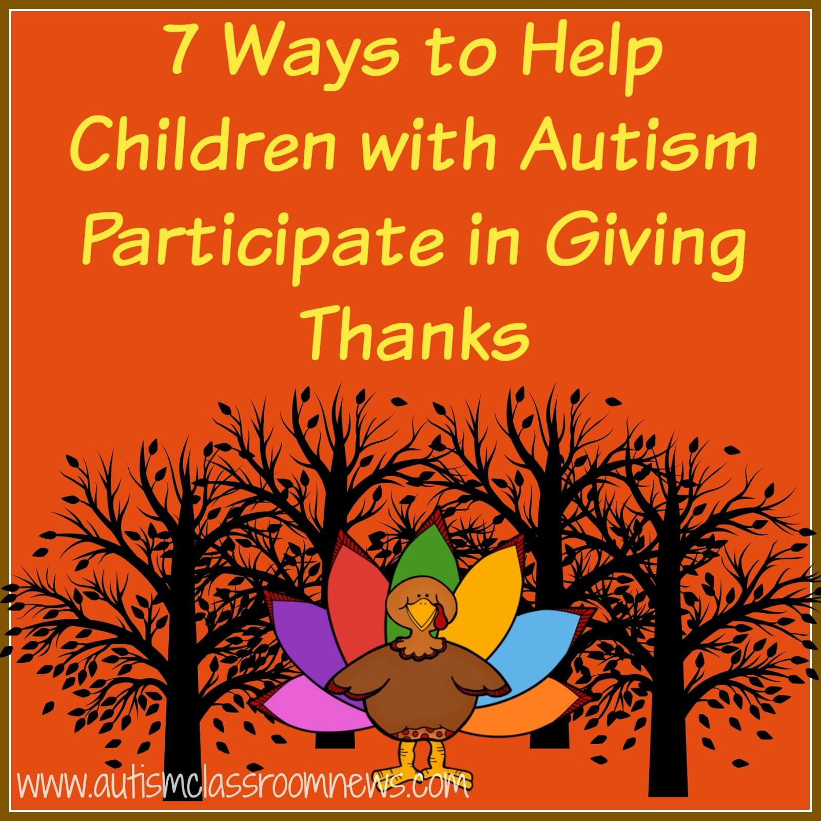 7 Ways To Help Children With Autism Participate In Giving