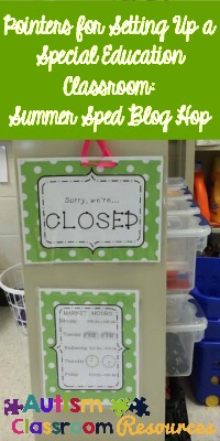 Strategies for Setting Up Special Education Classroom