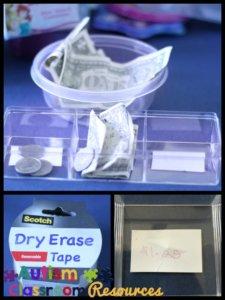 money matching workbasket task