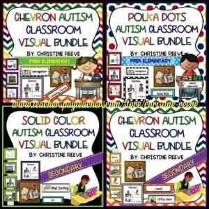 Autism Classroom Visual Schedules