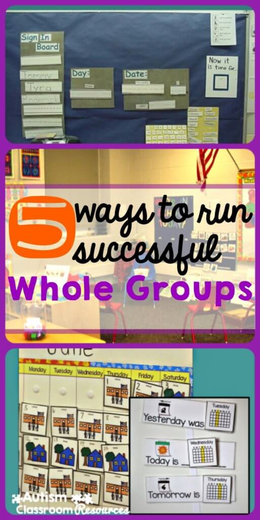 5 ways to run successful whole groups and morning meetings