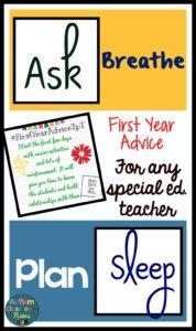Advice for new teachers
