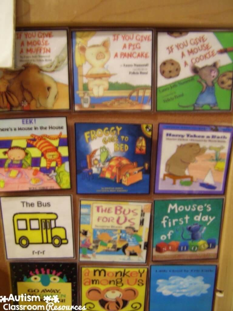 Autism Classroom Resources Morning Meeting book choices