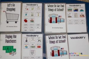 Adapted Interactive Books for Functional Skills