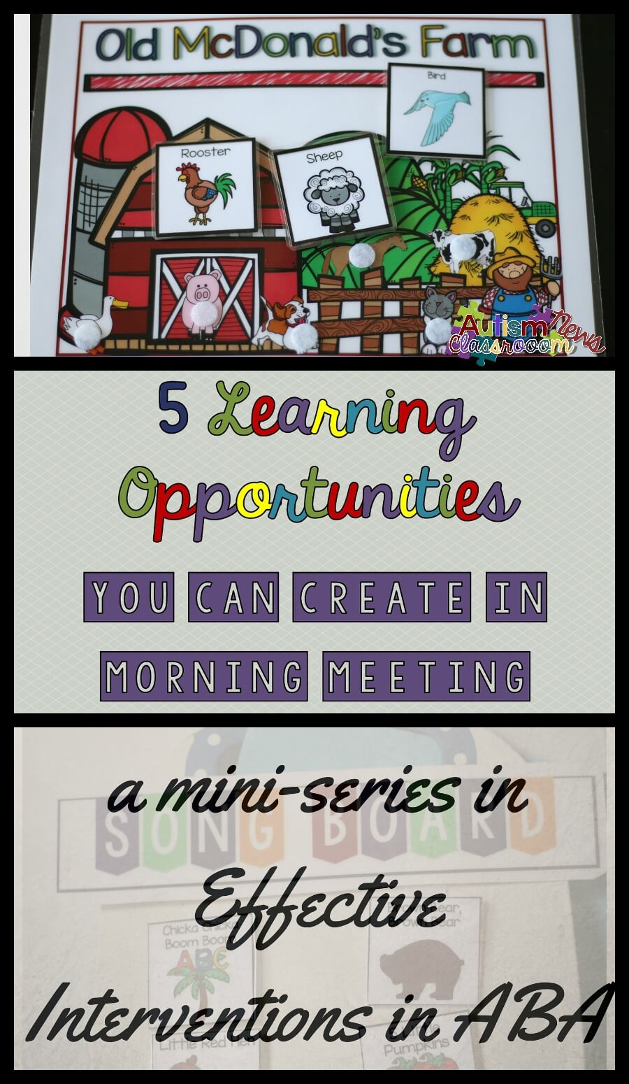 5 Incidental Teaching Opportunities During Morning Meeting Autism