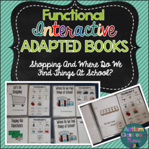 Functional Adapted Books for Making a Purchase and Back to School copy
