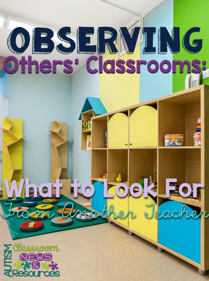 Observing Others' Classrooms: What to Look For From Another Teacher