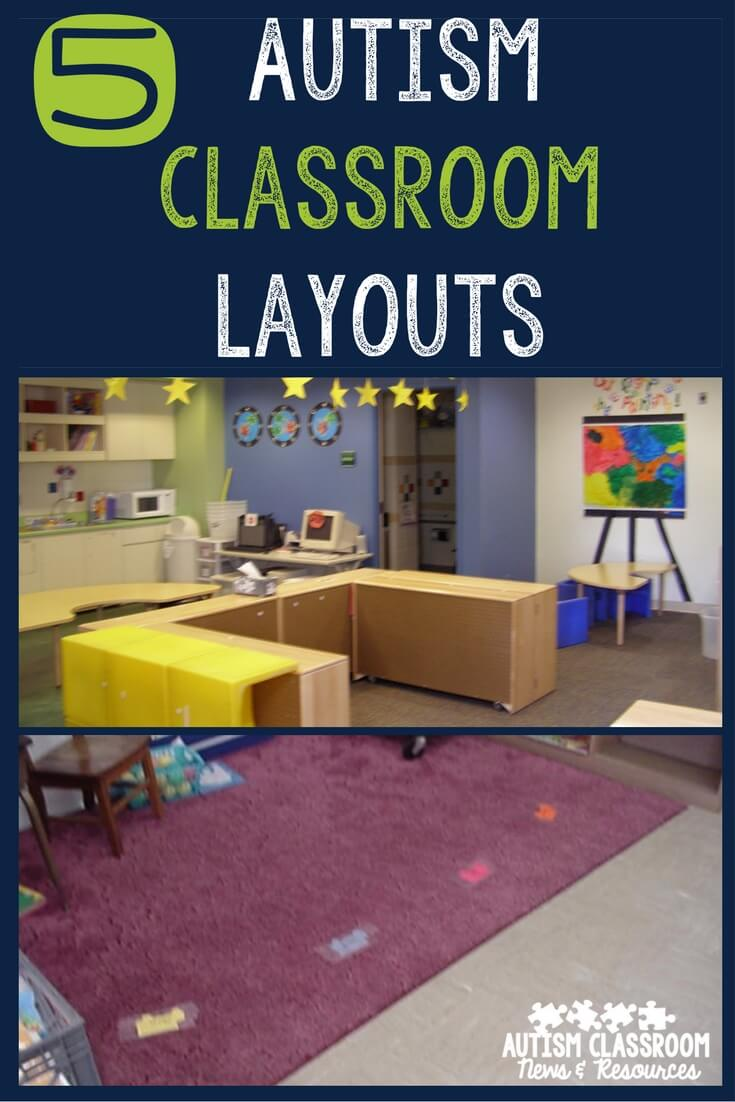 Design Your Classroom ~ Autism classroom layouts tips to create your own