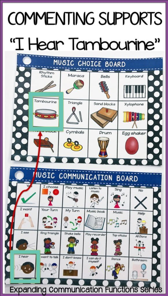 Do you have a hard time getting your students with autism to communicate for anything other than asking for highly desired items?  Here are some ideas about activities you can use with sentence starter strips to get more commenting from them.  Tips about engineering the classroom to encourage commenting included.