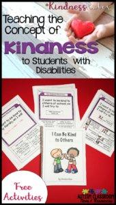 #KindnessRules: Teaching the Concept of Kindness (Freebie!)