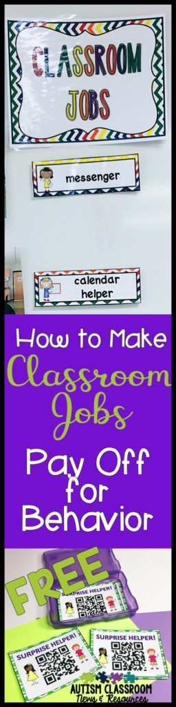 If you have met Bob, you have worked with a student who needs lots of attention and has limited impulse control. Helper jobs in the classroom can help. Doesn't matter if you are a general education teacher or a special education teacher, sometimes kids just need a job to keep them engaged. Check out the ways you use can use helper roles beyond the traditional job chart...and download the free surprise helper cards.
