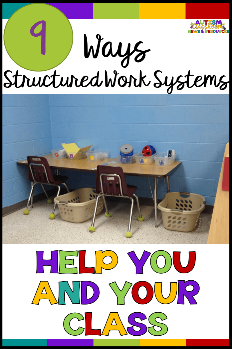 You probably know how independent work systems can help your students, but do you know they can help your whole special education class run more effectively? Find out how in this post!