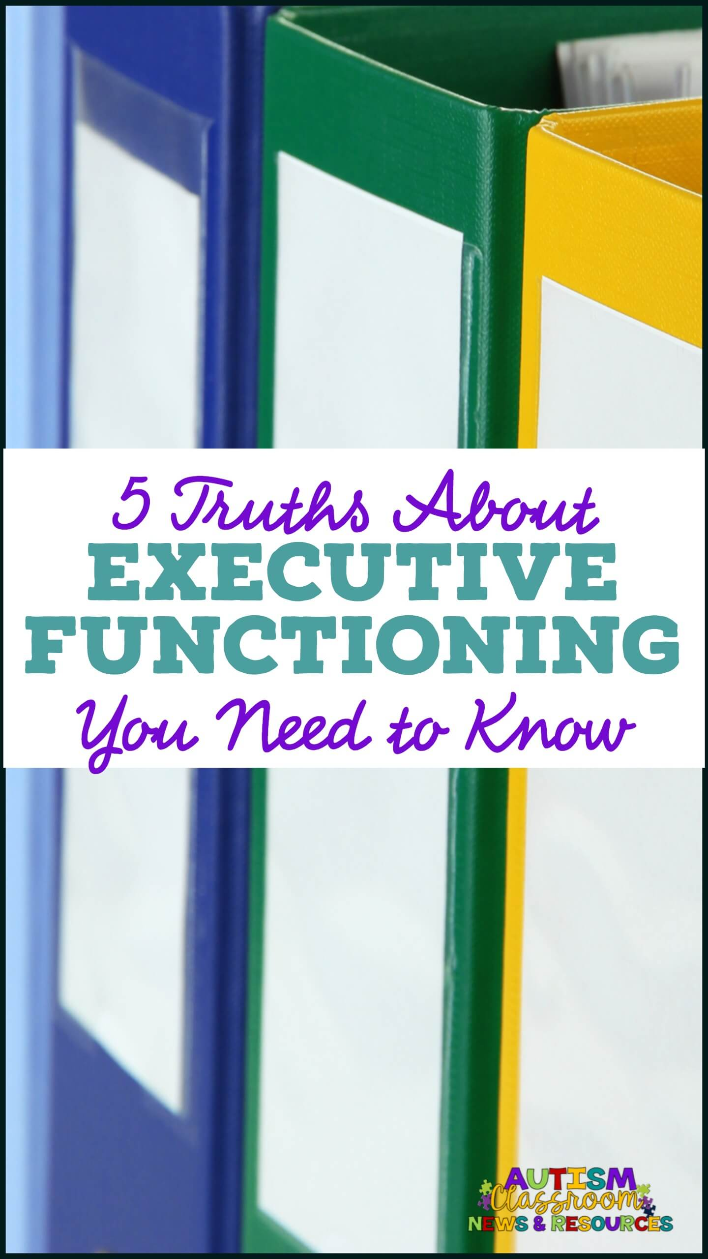 5 truths about executive functioning you need to know