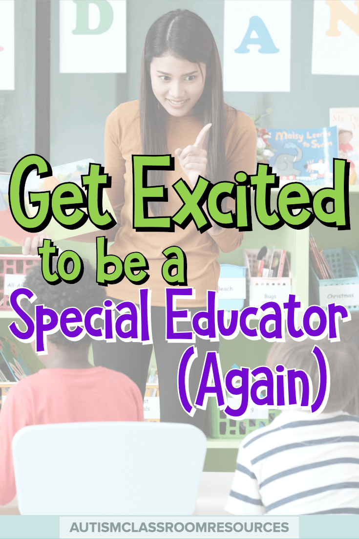 If you are just starting out or have been teaching for a while, you know it's not an easy job. And it's easy to lose the joy and excitement of the job amidst the paperwork and behavior. Come put the joy back in being a special educator again discovering the Special Educator Academy and what it can offer to help. #specialeducation #specialeducationpd